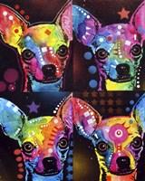 Chihuahua 4X Fine Art Print