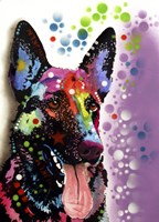 German Shepherd 2 Fine Art Print