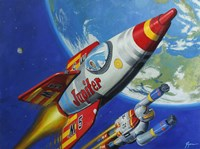 Space Patrol 2 Fine Art Print