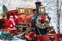 Christmas Express Fine Art Print