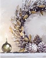 Gold Wreath Fine Art Print
