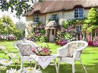 Cottage Chairs Fine Art Print