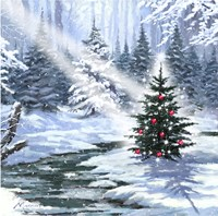 Little Christmas Tree 1 Fine Art Print