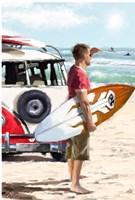 Surfer Fine Art Print
