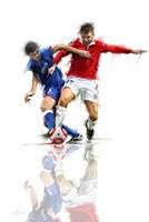 Football Players 2 Fine Art Print