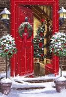 Red Door 1 Fine Art Print