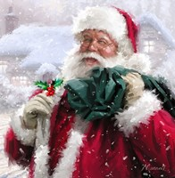 Santa Without Badge Fine Art Print
