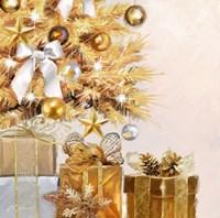 Gold Tree Fine Art Print