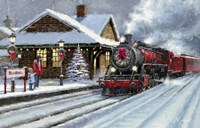Christmas Station Fine Art Print