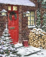 Winter Logs Fine Art Print