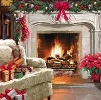 Fireplace 3 Fine Art Print