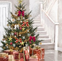 Presents Under Tree 1 Fine Art Print