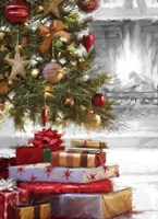 Presents Under Tree 2 Fine Art Print