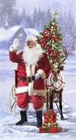 Santa 10 Framed Print
