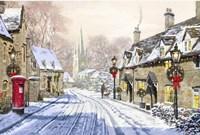 Christmas Village 2 Fine Art Print