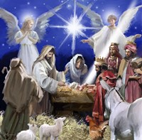 Nativity 2 Fine Art Print