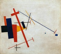 Suprematist Composition, 1915 Fine Art Print