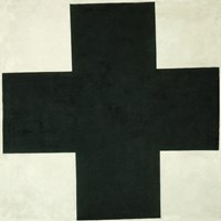 Black Cross, c. 1923 Fine Art Print