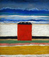 Red House, 1932 Fine Art Print