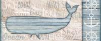 Ocean Life Whale Framed Print