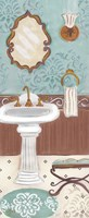 Fancy Bath Panel I Framed Print