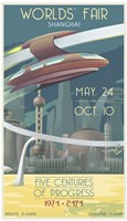 Shanghai Worlds Fair Fine Art Print