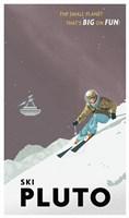 Ski Pluto Fine Art Print