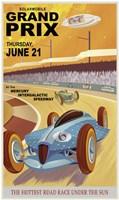Solarmobile Grand Prix Fine Art Print