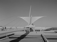 Milwaukee Art Museum, Quadracci Pavilion, 700 North Art Museum Drive, Milwaukee, Milwaukee County, WI Fine Art Print