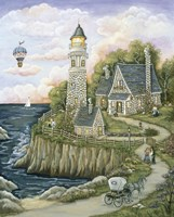 Love Lighthouse Fine Art Print