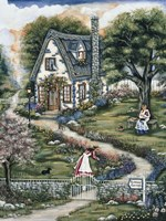Sisters Cottage Fine Art Print