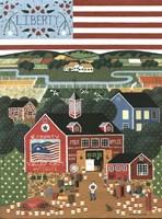 Liberty Valley Farm Fine Art Print