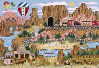 Canyon Express Fine Art Print