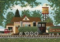 Oak Landing Depot Fine Art Print