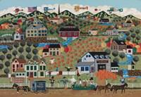 Noah's Pumpkin Farm Fine Art Print