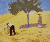 Baum Im Kornfeld - Tree In A Rye-Field, 1907 Fine Art Print