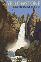 Yellowstone Tower Falls Fine Art Print