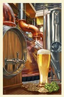 Beer Distillery Fine Art Print