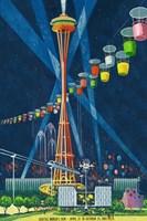 Seattle World's Fair 1962 I Framed Print