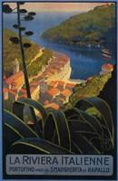 La Rivieria Italienne French Fine Art Print
