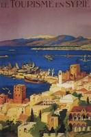 Le Tourisme En Syrie Syria Ad Fine Art Print