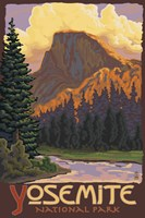Yosemite National Park Scene II Fine Art Print
