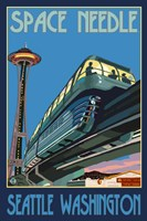 Space Needle Seattle Fine Art Print