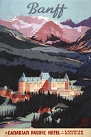 Canadian Pacific Hotel Fine Art Print
