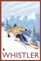 Whistler Mountain Ski Fine Art Print