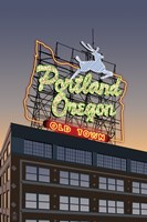 Portland Oregon Factory Fine Art Print
