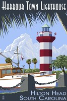 Harbour Town Lighthouse Fine Art Print