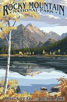 Long's Peak Rocky Mountain Fine Art Print