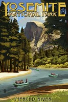 Merce River Yosemite Park Fine Art Print