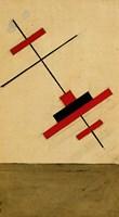 Festive Decoration For Vitebsk, 1920 Fine Art Print